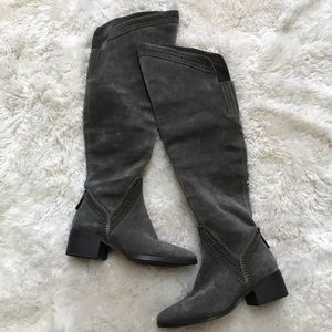 Vince Camuto Karinda Over the Knee Suede Boots